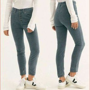 FREE PEOPLE Sun Chaser Corduroy High Rise Pants 25